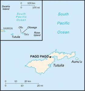 Click for larger map of American Samoa