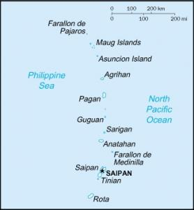 Click for larger map of Northern Mariana Islands
