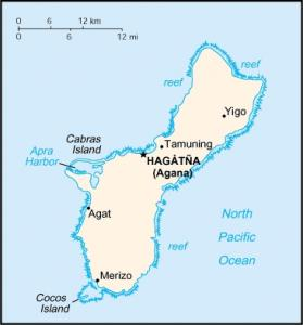 Click for larger map of Guam