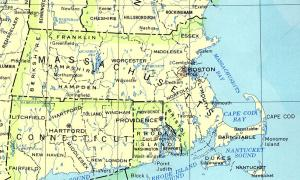 Click for larger map of Massachusetts