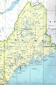 Click for larger map of Maine