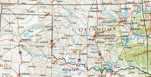 Click for larger map of Oklahoma