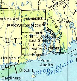 Click for larger map of Rhode Island