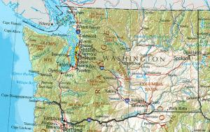 Click for larger map of Washington